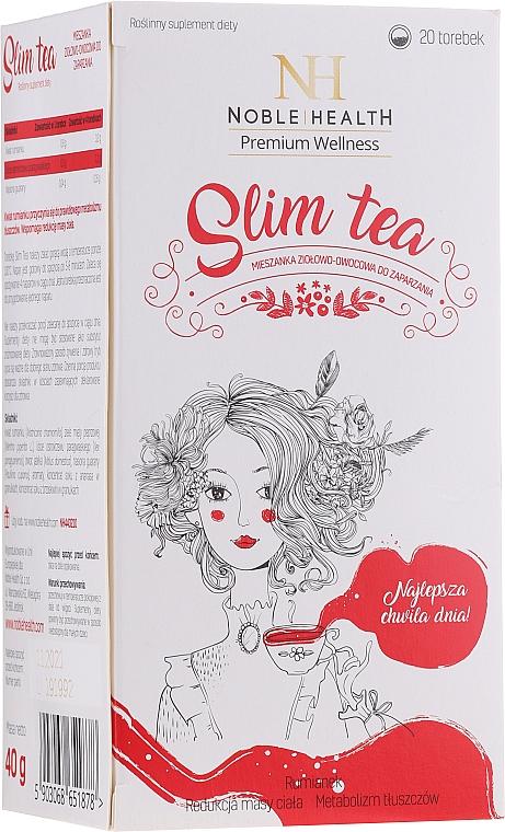 Complemento alimenticio té con propiedades adelgazantes - Noble Health Slim Tea
