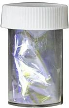 Perfumería y cosmética Lámina de transferencia para decoración de uñas, efecto cristal - Ronney Professional Transfer Glass Foil