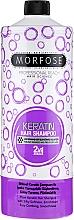 Perfumería y cosmética Champú con queratina y proteína hidrolizada para cabello dañado - Morfose Buble Keratin Hair Shampoo