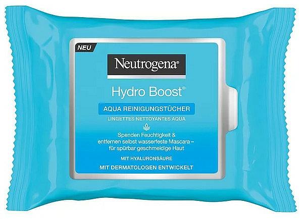 Toallitas húmedas limpiadoras con ácido hialurónico - Neutrogena Hydro Boost