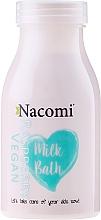 Perfumería y cosmética Leche de baño con proteínas de arroz y aceites naturales, aroma a frambuesa - Nacomi Milk Bath Raspberry