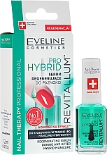 Perfumería y cosmética Sérum regenerador de uñas con algas y biotina - Eveline Cosmetics Nail Therapy Professional Revitalum Pro Hybrid