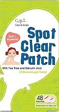 Perfumería y cosmética Parches faciales hipoalergénicos con ácido salicílico y aceite de árbol de té - Cettua Spot Clear Patch