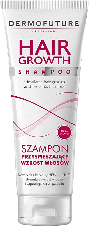 Champú profesional con complejo de activos vegetales - DermoFuture Hair Growth Shampoo