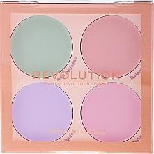 Perfumería y cosmética Kit corrector de base mate - Makeup Revolution Matte Base Corrector Kit