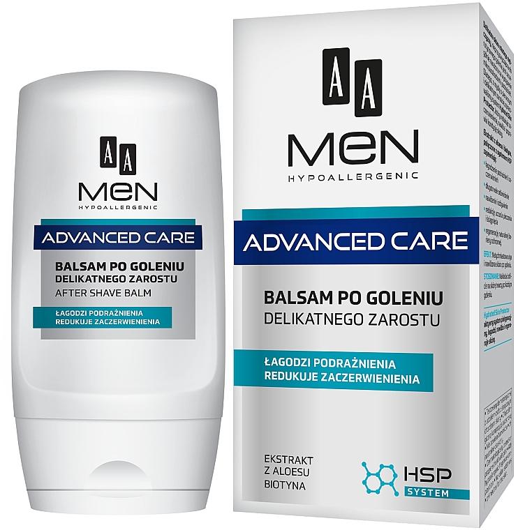 Bálsamo aftershave hipoalergénico con extracto de aloe vera - AA Men Advanced Care After Shave Balm For Delicate Facial Hair