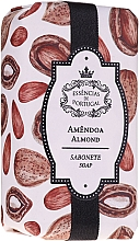 Perfumería y cosmética Jabón natural artesanal con aceite de almendras dulces - Essencias De Portugal Natura Almond Soap