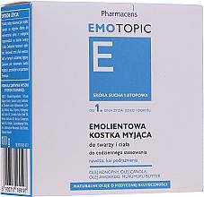 Perfumería y cosmética Jabón con aceite de aguacate y canola - Pharmaceris E Emotopic Soap