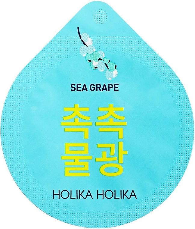 Mascarilla facial de noche con extracto de uva del mar - Holika Holika Superfood Capsule Pack Sea Grapes — imagen N1