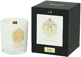 Perfumería y cosmética Tiziana Terenzi Arethusa Scented Candle White Glass - Vela perfumada