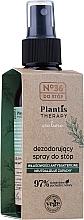 Perfumería y cosmética Spray desodorante natural para pies con extracto de salvia y aceite de eucalipto - Pharma CF No.36 Plantis Therapy Foot Spray