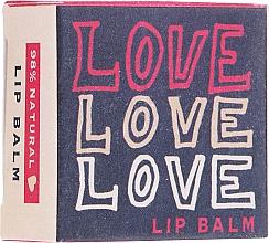 Perfumería y cosmética Bálsamo labial natural hidratante - Bath House Love Love Love Citrus Fresh Lip Balm