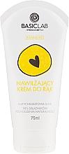 Perfumería y cosmética Crema de manos con extracto de aloe y aceites de aguacate & almendras dulces - BasicLab Dermocosmetics Famillias