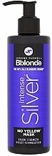 Perfumería y cosmética Mascarilla anti tonos amarillos con extracto de rosa y aceite de amapola - Jerome Russell Bblonde Intense Silver No Yellow Mask