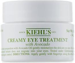 Perfumería y cosmética Crema para contornno de ojos con aguacate - Kiehl`s Creamy Eye Treatment with Avocado