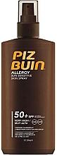 Perfumería y cosmética Spray protector solar con complejo protector para piel sensible - Piz Buin Allergy Spray Spf50