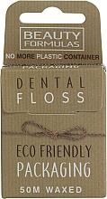 Perfumería y cosmética Hilo dental de cera ecológico - Beauty Formulas Eco Friendly Dental Floss