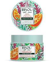 Perfumería y cosmética Exfoliante corporal anticelulítico con hidrolato de naranja, efecto drenaje linfático - Bisou I feel... Nature Anti-Cellulite Body Scrub Orange & Brown Algae