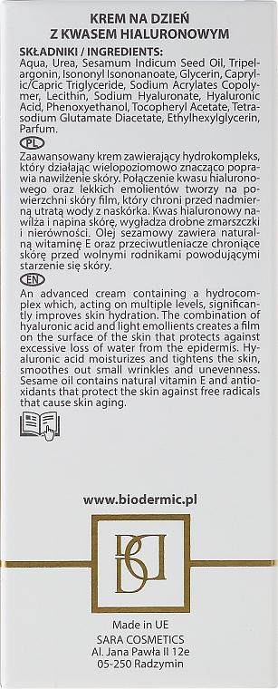 Crema de día con ácido hialurónico y aceite de sésamo - BioDermic Hyaluronic Acid Day Cream — imagen N3