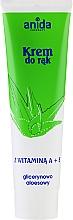Perfumería y cosmética Crema de manos con vitamina A, E, glicerina y aloe - Anida Pharmacy Hand Cream Vitamin A And E With Glycerine