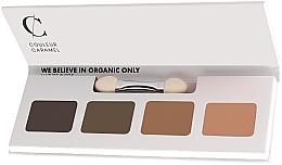 Perfumería y cosmética Paleta de sombras de ojos - Couleur Caramel Bio Sublime Eye Palette