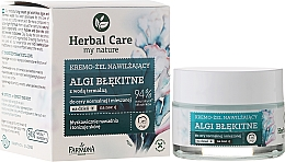 Perfumería y cosmética Gel-crema con algas azules & agua termal - Farmona Herbal Care Blue Algae Cream