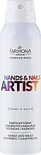 Perfumería y cosmética Espuma enzimática para manos y uñas con papaína, urea y ácido hialurónico - Farmona Professional Hands and Nails Artist Enzymatic Foam Peeling
