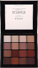Perfumería y cosmética Paleta de sombras de ojos - NYX Professional Makeup NYXUltimate Shadow Palette