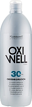 Perfumería y cosmética Emulsión oxidante 9% - Kosswell Professional Oxidizing Emulsion Oxiwell 9% 30 vol