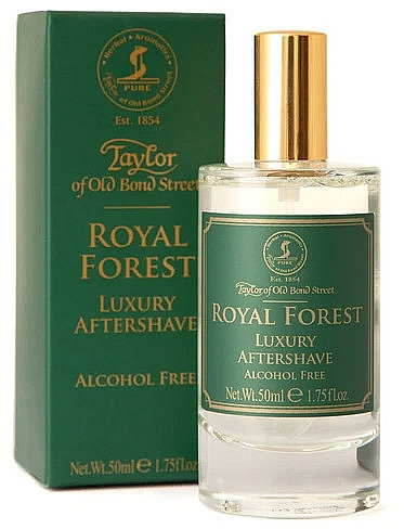 Taylor of Old Bond Street Royal Forest Aftershave Lotion - Loción aftershave, sin alcohol