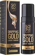 Perfumería y cosmética Mousse corporal autobronceadora con ácido hialurónico - Sosu by SJ Dripping Gold Luxury Tanning Mousse