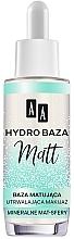 Perfumería y cosmética Prebase de maquillaje hidratante mineral mate - AA Hydro Baza Matt