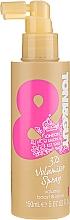 Perfumería y cosmética Spray para volumen y brillo del cabello con aceite de ricino - Toni & Guy Glamour 3D Volumiser Spray