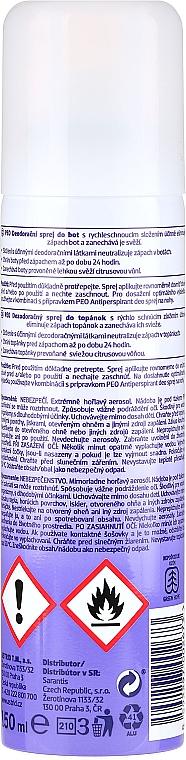 Desodorante spray para zapatos - Astrid Antibacterial Deodorizing Spray Peo Shoe — imagen N2