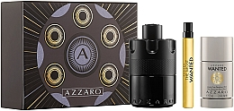 Perfumería y cosmética Azzaro The Most Wanted - Set (edp/100ml + desodorante/75ml + edp/10ml)