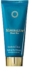 Perfumería y cosmética Mascarilla facial purificante con barro y minerales del Mar Muerto - Minerallium Purifying Mud Masqu