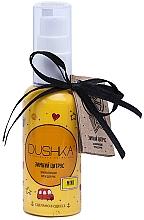 Perfumería y cosmética Crema de manos con aceite cítrico, de oliva y espino amarillo - Dushka (mini)