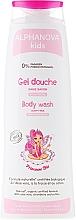Perfumería y cosmética Gel de ducha para niñas con extracto de aloe vera y fresa - Alphanova Kids Princesse Body Wash