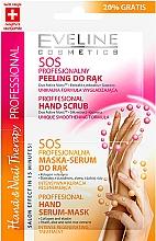Perfumería y cosmética Exfoliante para manos con extracto de seda y guaraná - Eveline Cosmetics Therapy