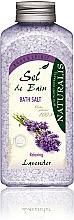 Perfumería y cosmética Sales de baño con aroma a lavanda - Naturalis Sel de Bain Lavender Bath Salt