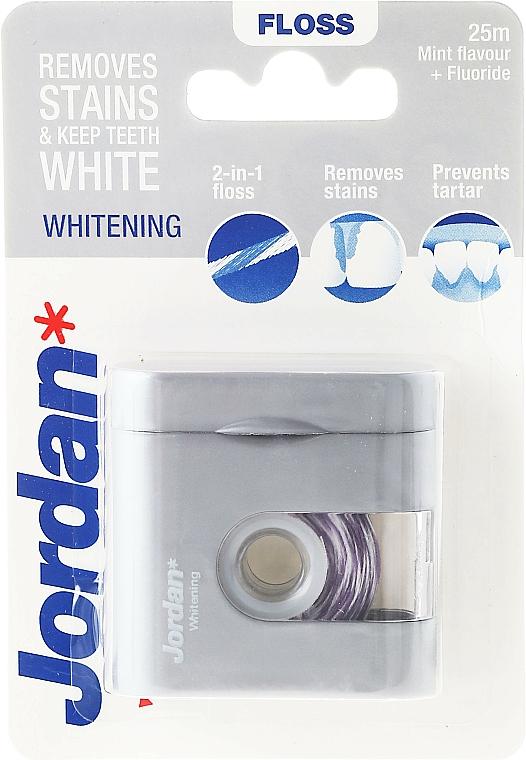 Hilo dental con sabor a menta - Jordan Whitening Floss