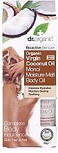 Perfumería y cosmética Aceite para cuerpo, cabello y uñas de coco orgánico, bio - Dr.Organic Virgin Coconut Oil Moisture Melt Body Oil