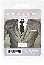 Perfumería y cosmética Cera para lámpara aromática con aroma a pachulí & vainilla - Kringle Candle Grey