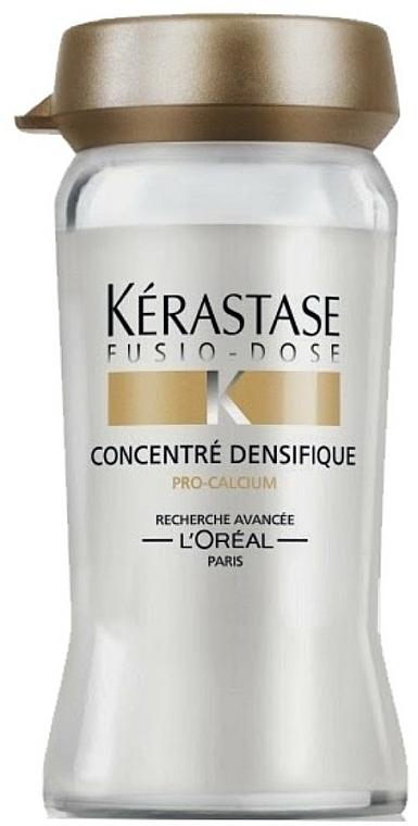 Tratamiento densificante con queratina para cabello fino - Kerastase Fusio Dose Concentree Densifique