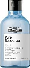 Perfumería y cosmética Champú a base de agua purificada con vitamina E - L'Oreal Professionnel Pure Resource Purifying Shampoo