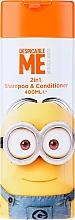 Perfumería y cosmética Champú y acondicionador infantil con vitamina A y E - Corsair Despicable Me Minions 2in1 Shampoo&Conditioner