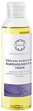 Perfumería y cosmética Tónico corporal con extracto de salvia y cúrcuma sin alcohol - Yamuna Sage-Turmeric Non-Alcoholic Tonic
