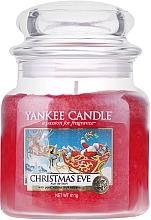 Perfumería y cosmética Vela aromática en tarro de cristal, Nochebuena - Yankee Candle Christmas Eve