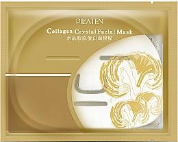 Perfumería y cosmética Mascarilla facial de tejido con colágeno - Pilaten Collagen Crystal Facial Mask