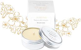 Perfumería y cosmética Vela de masaje con manteca de karité, aroma a flor de cerezo - Almond Cosmetics Cherry Blossom Massage Candle
